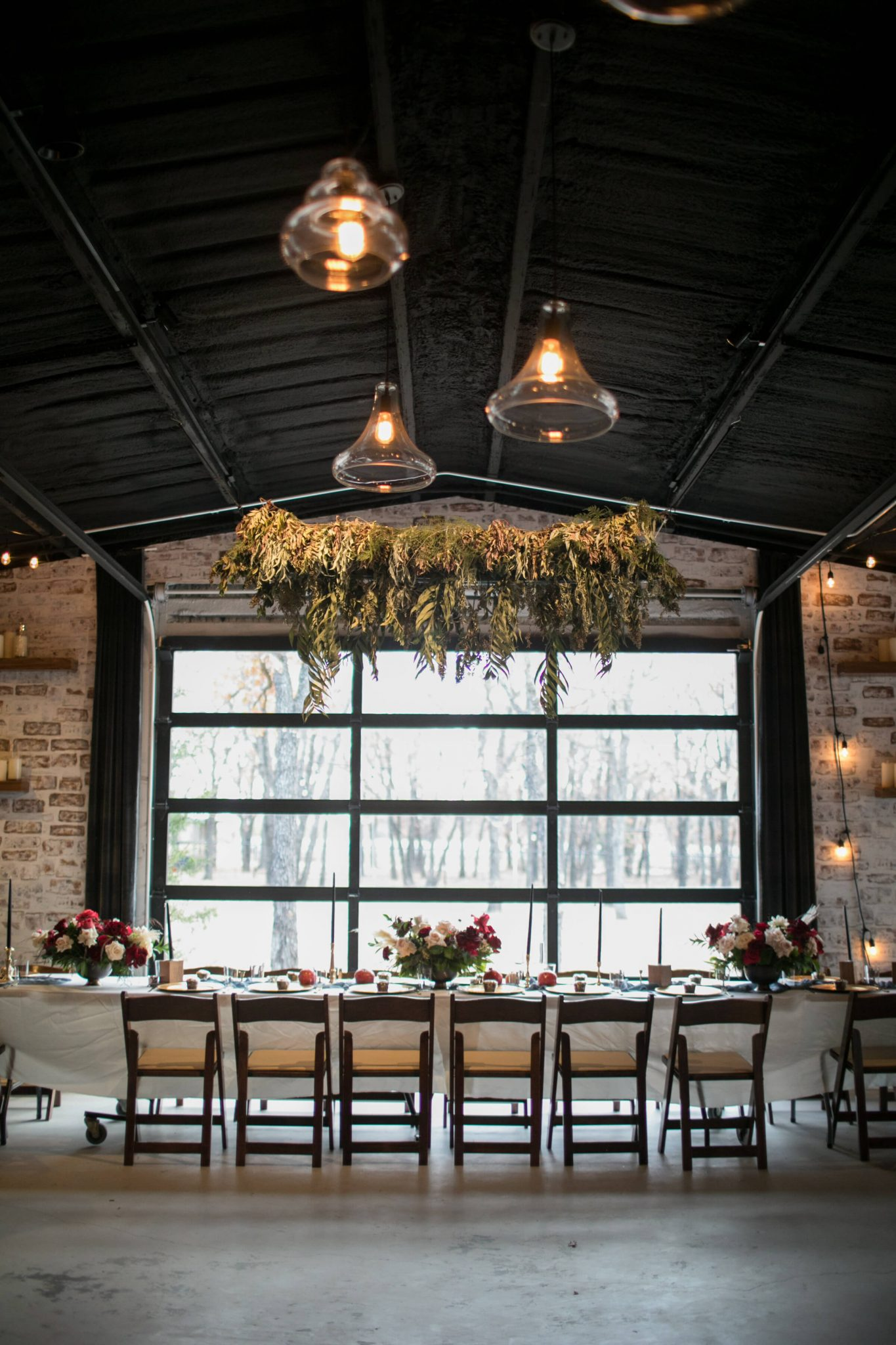 The interior of The Forge comes with decor included, but can be as ornate or understated as the bride and groom like.